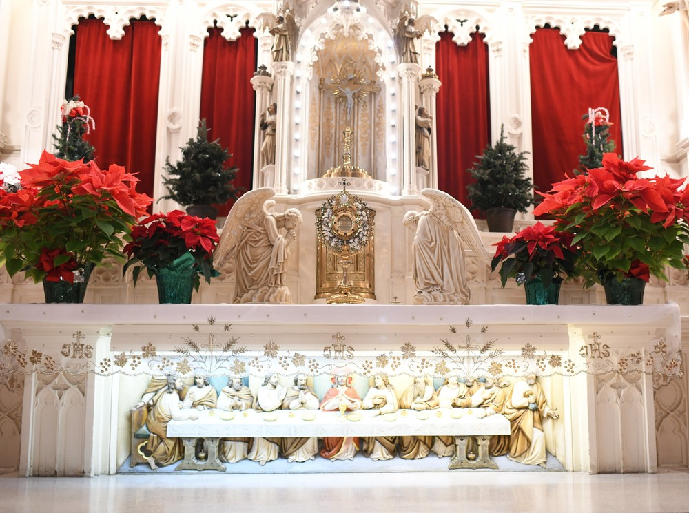 The Main Altar - Holy Family Parish - Chicago, IL